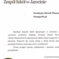 Podziękowania dla Fundacji Mundi Plumarii i Naszywki.pl